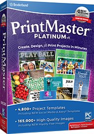 PrintMaster v8 Platinum Retail Box